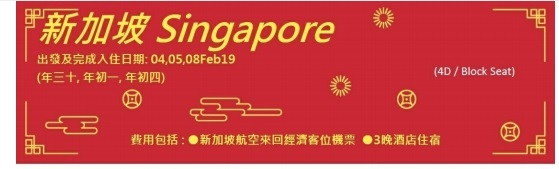 2019 Singapore Chinese New Year Package