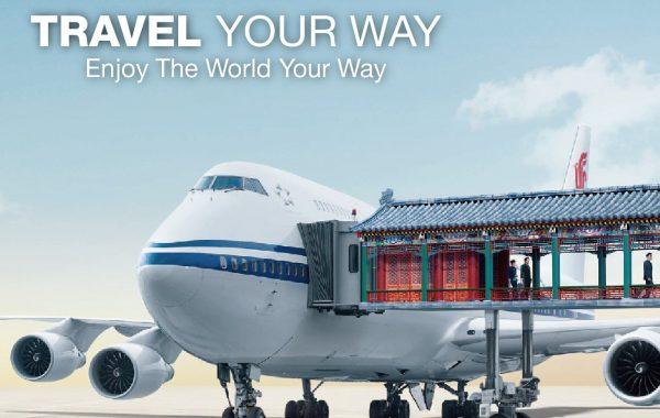 Sunpac x Air China x Union Pay